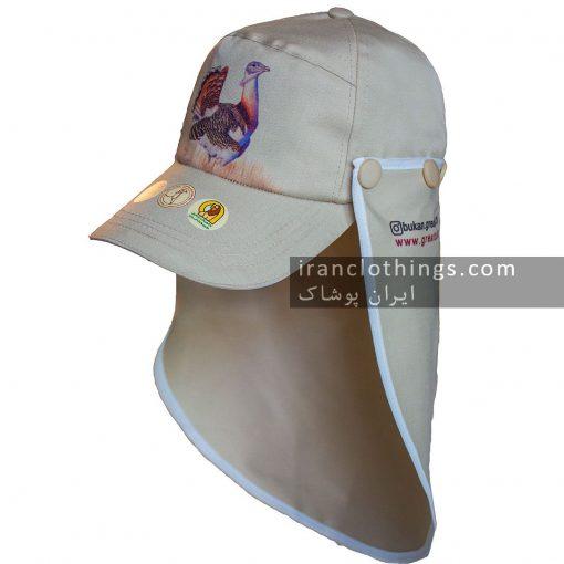 کلاه نقابدار شالدار